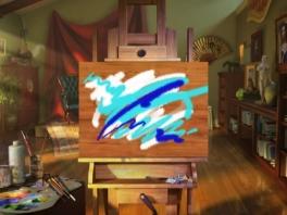 Picasso aan 't werk!